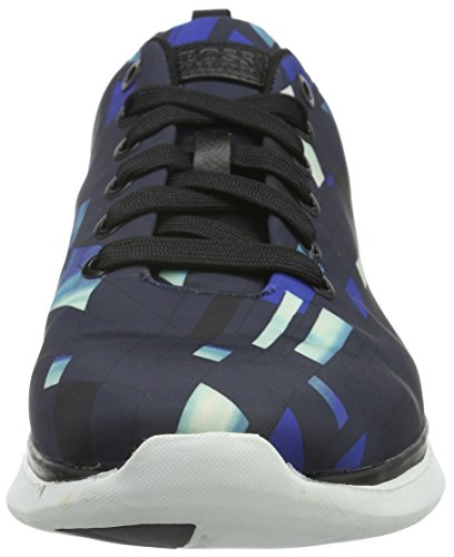 Boss Green Gym Runn Nypr 10191378 01, Baskets Basses Homme Bleu (Open Blue 460)