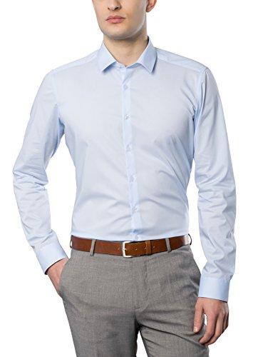 eterna Herren Businesshemd Hellblau