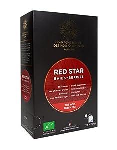 Thé Red Star - Boîte 24 sachets - BIO