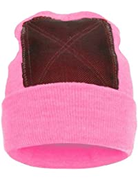 BACKSPIN Function Wear - Headspin Beanie Bonnet Cap - Taille Unique - rose 72f6344c9b1