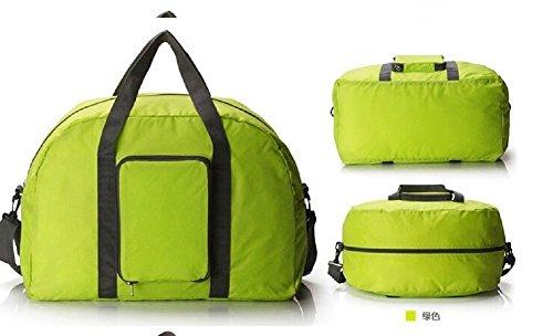 lazutom groß Kapazität leicht Multifunktions Duffle Tasche für Sport Gym Urlaub blau Einheitsgröße grün