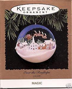 Hallmark 1996über die Dächer Magic Andenken Ornament qlx7374 -
