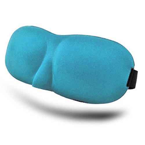 Bllatta 3D Schlafmaske Leichte Seidige konturierte Augenmaske Schlafbrille mit vestellbarem Gummiband