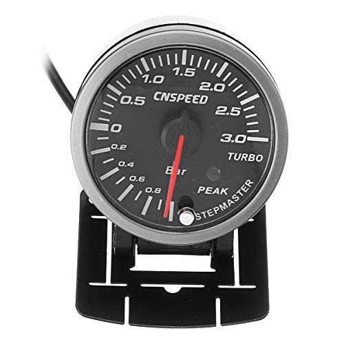RENCALO 2,5 Zoll 60mm LED Turbo Boost Vakuum Druck Auto Manometer Meter Pointer Universal -