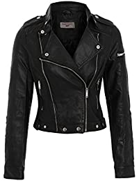 SS7 Clothing - Blouson - - Manches longues Femme Noir Noir 5c3a05a3381c