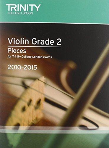 Violin Exam Pieces Grade 2 2010-2015 (score + Part) (Trinity Guildhall Violin Examination Pieces 2010-2015) por Trinity Guildhall