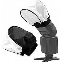 SHOPEE Universal Soft Mini Bounce Diffuser Cap for on/Off Camera Flash Gun