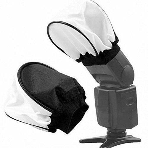 SHOPEE BRANDED CLOTH Universal Soft Mini Flash Bounce Diffuser Cap for On Camera or Off Camera Flash Gun, for Canon, Nikon, Sunpak, Vivita Flash, Nissin, Sigma, Sony, Pentax, Olympus, Panasonic Lumix Flashes  available at amazon for Rs.199