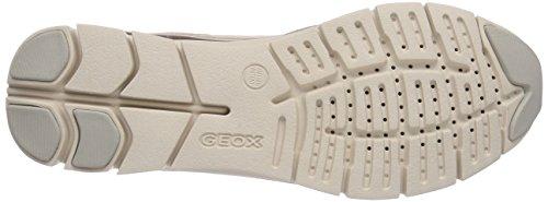 Geox D SUKIE A, Low-Top Sneaker donna Beige (Beige (BEIGE/SKINC5410))