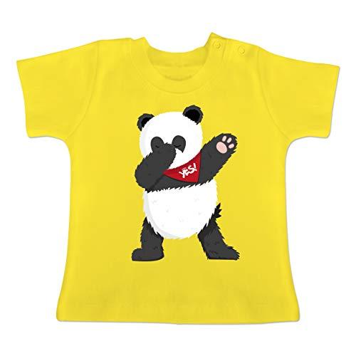 ba8fb3bfcfd585 Tiermotive Baby - Dab Panda - 18-24 Monate - Sonnengelb - BZ02 - Baby