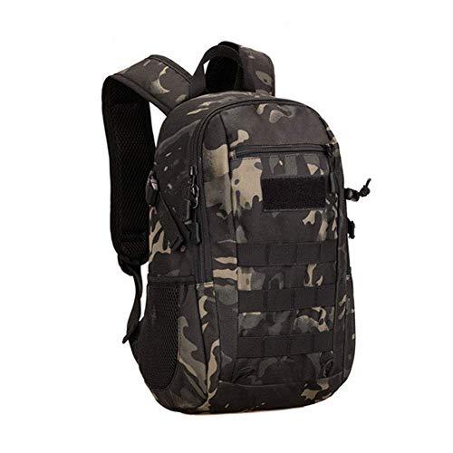 SparY Rucksack, 12L Doppel Schulter Tarnfarbe Schultasche Zelten Klettern Wandern Reflektierend Mini Militär Weich Wasserdicht Outdoor - Wie Bild Show, 7 -