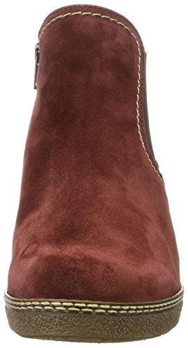 Gabor Comfort Basic, Bottes Pour Femme Rouge (wine Sn / A.ma / Mi)