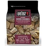 Weber 17618 - Trozos de leña para ahumar  - cerezo