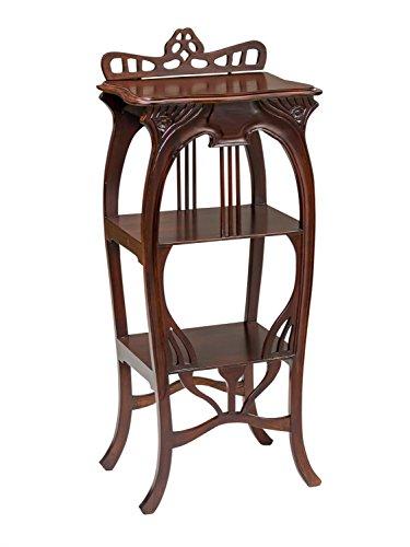 Beistelltisch Konsole Telefontisch Regal Bartisch Tisch Barregal Holz Antik-Stil