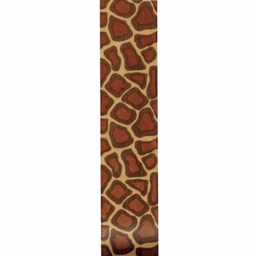 Unbekannt Offray Giraffe Craft Ribbon, 11/2Zoll x 9-Feet, Braun (Auslaufmodell)