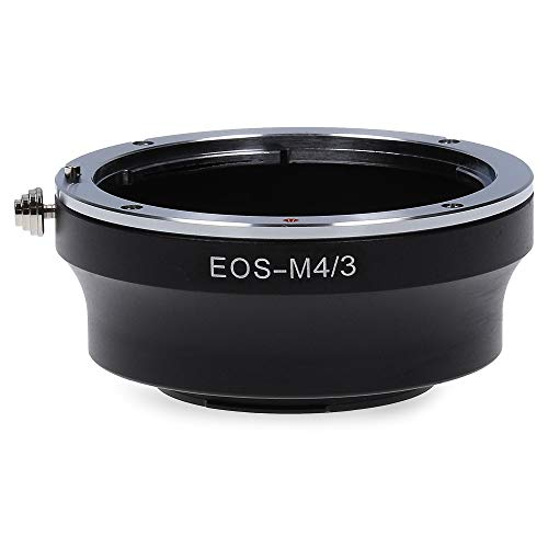 3 Kamera Adapter kompatibel mit Canon EF EOS EF-S Micro Four Thirds M4/3 MFT Ring ()
