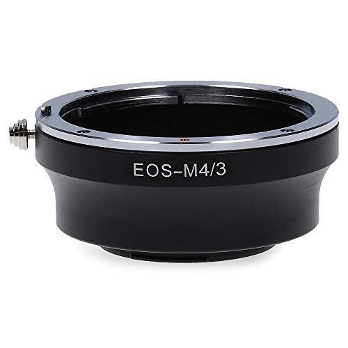 Berlin Optix EOS-M4/3 Kamera Adapter kompatibel mit Canon EF EOS EF-S Micro Four Thirds M4/3 MFT Ring