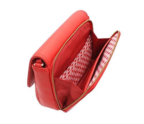 Tula NAPPA ORIGINALS spalla / Cross Body Bag 8475 betulla Pillar Box