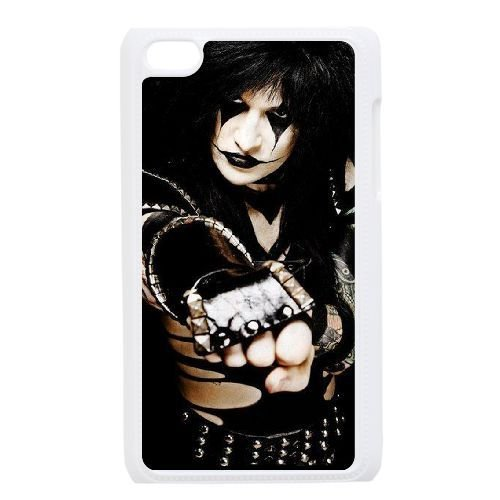 Ipod Touch 4 Phone Case White Black Veil Brides AZ7325036