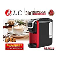 آلة قهوة 3 في 1 كابسول / DLC 3 في 1 آلة كبسولات القهوة