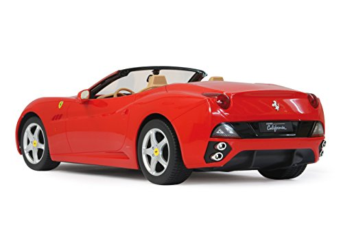 RC Auto kaufen Rennwagen Bild 3: Jamara 404290 - RC Ferrari California 1:12 inklusive Fernsteuerung, rot*