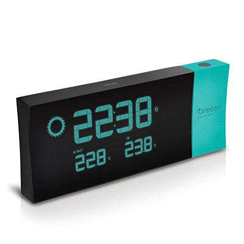 oregon-scientific-prysma-b-bar223p-reloj-proyector-con-prevision-meteorologica-color-azul