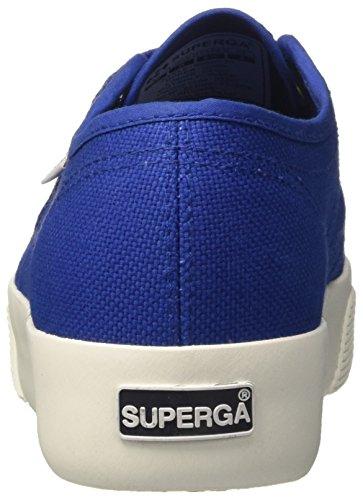 Superga Damen 2730-Cotw Colors Hearts Sneaker Blu (Intense Blue)