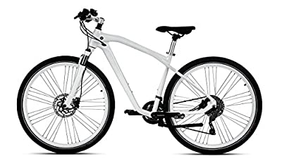 "BMW Genuine Cruise Bike Bicycle Cycle NBG III 28"" Wheels White"