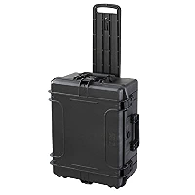 Professionell Trolley / wheeled carrying case precisely fits for DJI Ronin MX with a lot of space for accessories on 3 levels
