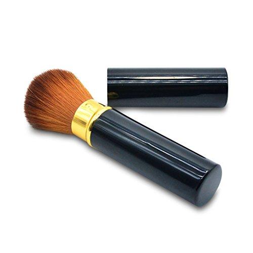 Elenxs Fond de teint poudre Pinceau plat Haut Kabuki crème Pinceau