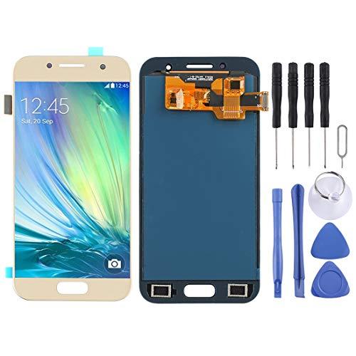 LCD Screen Replacement Ersatz-LCD-Bildschirm + Touchscreen und Digitizer Full Assembly (TFT-Material) for Galaxy A3 (2017), A320FL, A320F, A320F / DS, A320Y / DS, A320Y (Schwarz) Digitizer Full Assemb