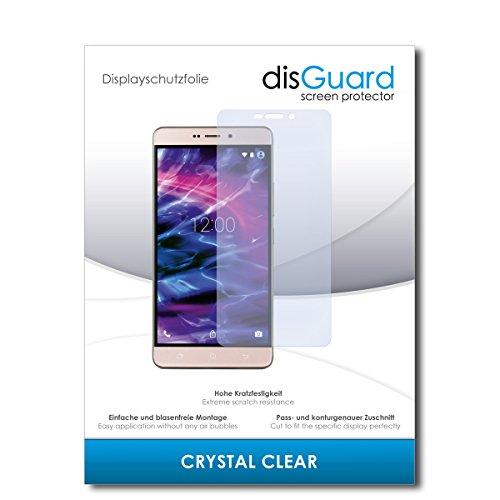 disGuard® Bildschirmschutzfolie [Crystal Clear] kompatibel mit Medion Life X5520 [2 Stück] Kristallklar, Transparent, Unsichtbar, Extrem Kratzfest, Anti-Fingerabdruck - Panzerglas Folie, Schutzfolie