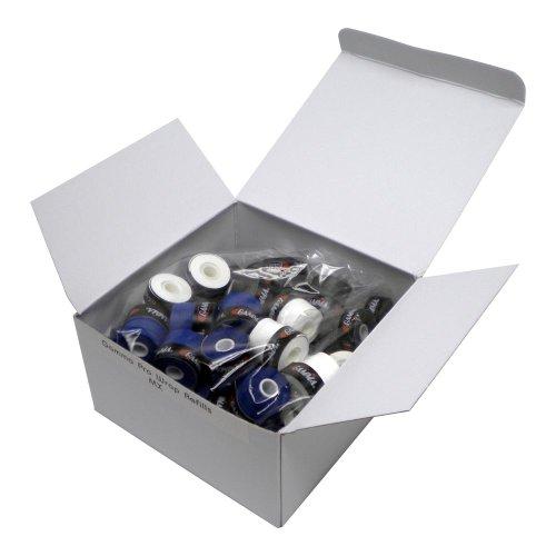GAMMA Sport RZR Edge Griffband–Schwarz, sortiert, 60-Pack Refill (60 Count Refill)