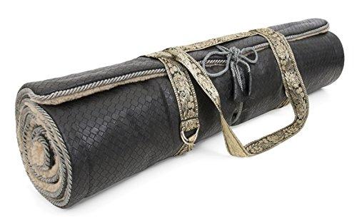 unique style shop picked up Holistic Silk yoga mat black