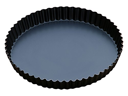 Price comparison product image Master Baker TC30 Platinum Fluted Pie or Pizza Steel Blue 30 x 30 x 3 cm