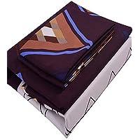 Prigione, 4pezzi Suit, geometria 3d Bedding Set 100% poliestere Queen/matrimoniale/king/Twin Size vendita calda twin