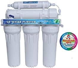 R.K. AQUA FRESH INDIA Plastic 5 Stages Electrical Water Purifier (White, 21. 5inch)