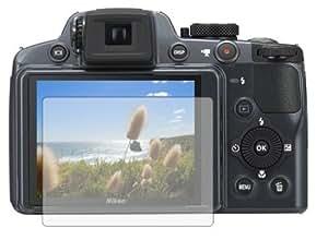 6 x Films de protection d'écran pour Nikon Coolpix P510 - Résistant aux éraflures / Display Protective Film