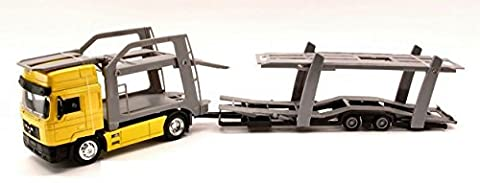 NEW RAY NY15033 CAMION MAN F 2000 AUTO CARRIER BISARCA 1:43 MODELLINO DIE CAST