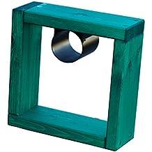 estrucmader - Obstáculo de hípica para caballos mod. Cavaletti 400, verde/rojo/azul/amarillo