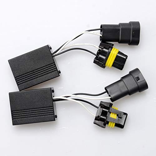 Win Power 9005/9006/9012 (HB3 / HB4 / HIR2) LED Scheinwerfer Decoder CAN-BUS Kein Fehler Warnung Canceller Anti-Flicker Widerstand Harness, 2St