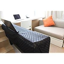 Cubierta Clairevoire Para Piano Digital [Negro Ébano] para teclados de 88 teclas | Ideal para Yamaha P115 / P105 / P85 / P45 | Casio / PX150 / PX160 / PX360 / PX560 / PXA100 / PX 5S / CDP130 / CDP230