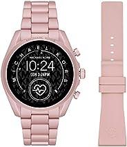 Michael Kors Gen 5 Bradshaw Women's Multicolor Dial Aluminium Digital Smartwatch - MKT