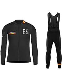Uglyfrog Maillot Ciclismo Bodies 2018 Primavera Nuevo Hombre Cycling Jersey + Pantalones Largas Cómodo Transpirable de