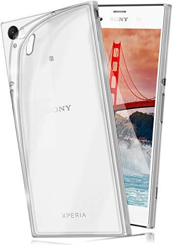 moex® Ultra-Clear Case [Vollständig Transparent] passend für Sony Xperia M4 Aqua | rutschfest & extrem dünn - Fast unsichtbar, Klar