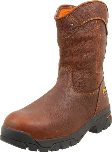 Timberland PRO Men's Helix Wellington Waterproof ST Work Boot,Brown/Brown,10 M US Brown/Brown