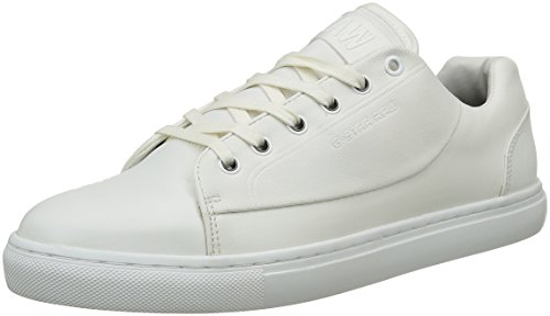 G-STAR Thec Mono, Scarpe da Ginnastica Basse Uomo, Bianco (Bright White 1322), 44 EU