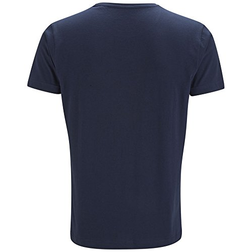 JACK & JONES Herren T-Shirt RAFFA TEE SS CREW NECK NOOS Dress Blues