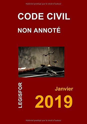 Code civil non annoté: Collection textes juridiques par  Legisfor