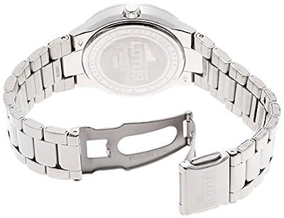 Lotus 15913/1 - Reloj de cuarzo para mujer, Correa de acero inoxidable de Lotus